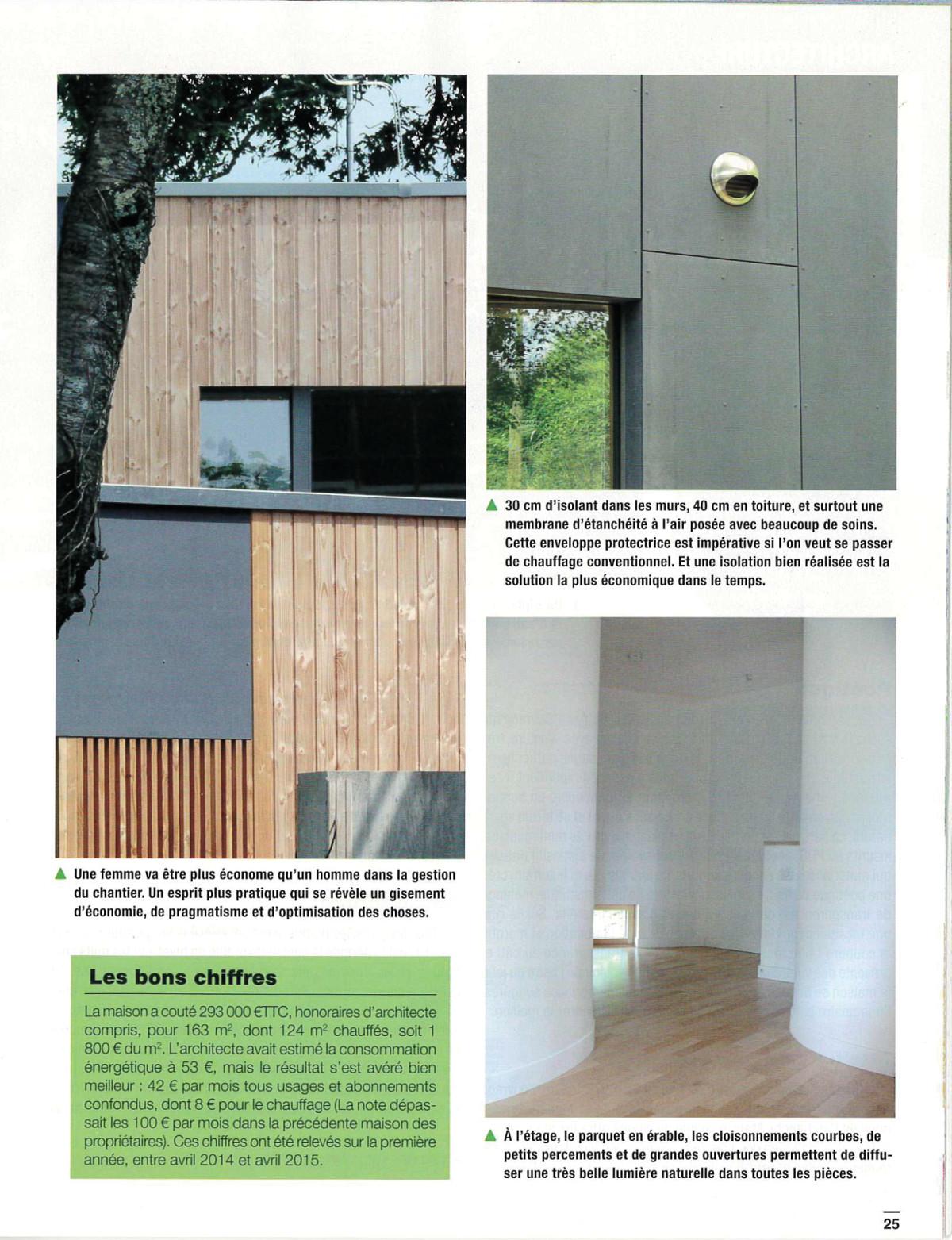 architecture maison passive architecte